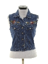 Womens Denim Vest