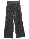 Womens Velveteen Flared Pants