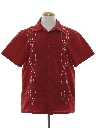 Mens Club Style Guayabera Shirt