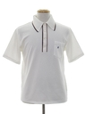 Mens Mod Polo Style Knit Golf Shirt