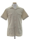 Mens Mod Safari Sport Shirt