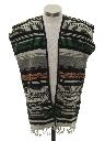 Unisex Hippie Poncho Style Vest