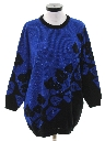 Womens Totally 80s Oversized Long Sweater