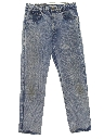 Womens Totally 80s Grunge Acid Wash Denim Jeans Pants