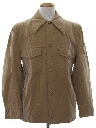 Mens Faux Suede Western Leisure Jacket