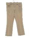 Mens Flared Jeans-Cut Style Leisure Pants
