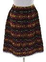 Womens Guatemalan Style Hippie Skirt