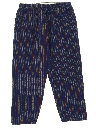 Unisex Guatemalan Style Cropped Baggy Hippie Pants