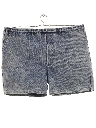Mens Totally 80s Acid Washed Denim Shorts