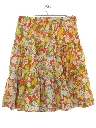 Womens Hippie Square Dance Skirt