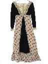 Womens/Girls Prairie Style Hippie Dress