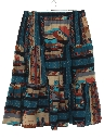 Womens Totally 80s Southwestern Skirt