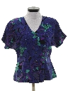 Womens Beaded Cocktail Shirt
