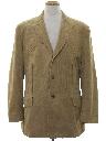 Mens Western Corduroy Blazer Sportcoat Jacket