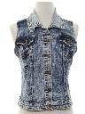 Womens/Girls Hippie Jeans Vest