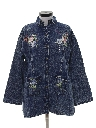 Womens Denim Hippie Shirt Jacket