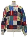 Mens Preppy Golf Sweater