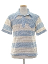 Mens Western Style Knit Shirt