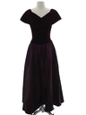 Womens Wicked 90s Maxi Prom Or Cocktail Dress