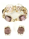 Womens Accessories - Jewelry Totally 80s Bracelet And Clip On Earrings