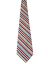 Mens Mod Corduroy Wide Diagonal Striped Necktie