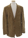 Mens Corduory Blazer Sport Coat Jacket