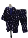 Unisex Matching 2 Piece Ethnic African Hippie Shirt And Pants