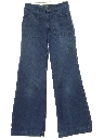Womens Bellbottom Denim Jeans Pants