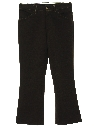 Mens Flared Mod Western Style Jeans Cut Pants
