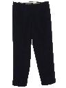 Mens Pleated Pants