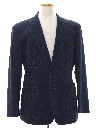 Mens Denim Disco Blazer Sportcoat Jacket