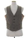 Mens Wool Suit Vest