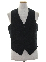 Mens Wool Suit Vest