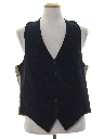 Mens Totally 80s Wool Suit Vest