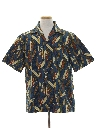 Mens Hawaiian Surf Shirt