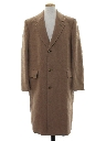 Mens Wool Duster Over Coat Jacket
