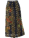 Womens Hippie Maxi Wrap Skirt