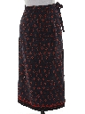 Womens Maxi Wrap Hippie Skirt