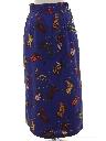 Womens Maxi Wrap Skirt