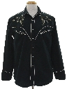 Mens Embroidered Western Shirt
