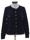 Womens Preppy Sweater