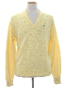 Mens Preppy Golf Sweater