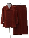 Womens Matching 2 Piece Bellbottom Leisure Suit