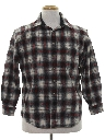 Unisex Wool Flannel Shirt