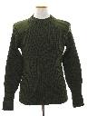 Mens Wool Military Sweater