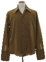 Mens Mod French Cuff Sport Shirt