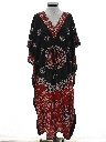 Womens Hippie Caftan Dress