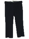 Mens Cropped Flared Leisure Pants