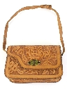 Womens Accessories - Hand Tooled Leather Purse