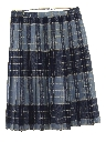 Womens Reversible Wool Skirt